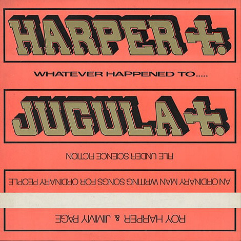 Roy Harper & Jimmy Page - Whatever Happened To Jugula? (LP, Album)