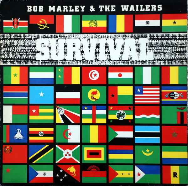 Bob Marley & The Wailers - Survival (LP, Album)