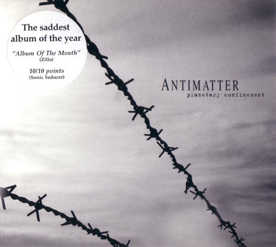 Antimatter (3) - Planetary Confinement (CD, Album, Ltd, Dig)