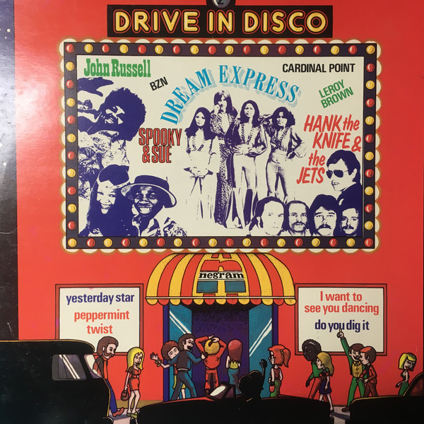 Various - Drive In Disco 2 (LP, Comp)