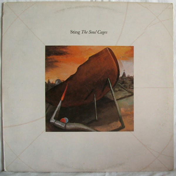 Sting - The Soul Cages (LP, Album)