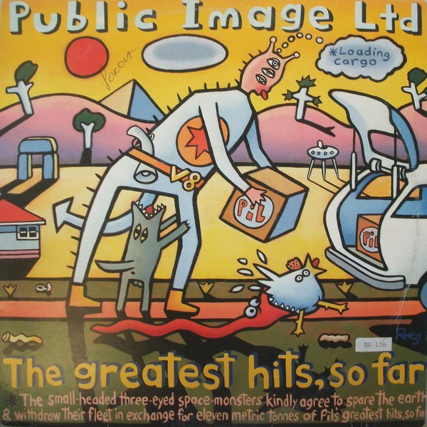 Public Image Ltd* - The Greatest Hits, So Far (2xLP, Comp)