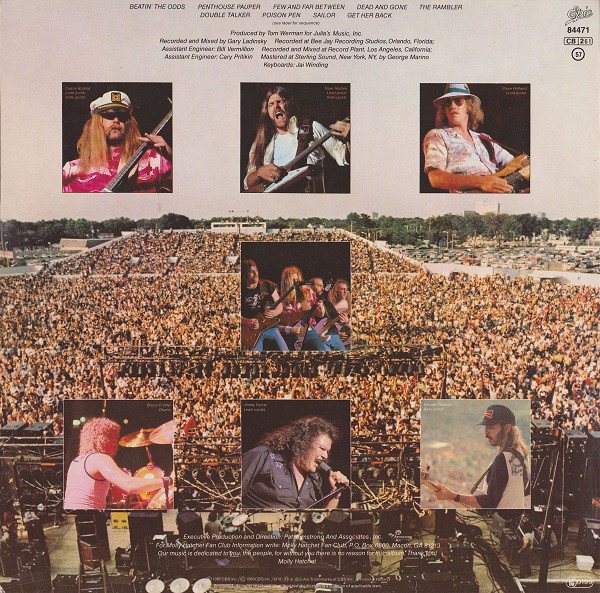 Molly Hatchet - Beatin' The Odds (LP, Album)