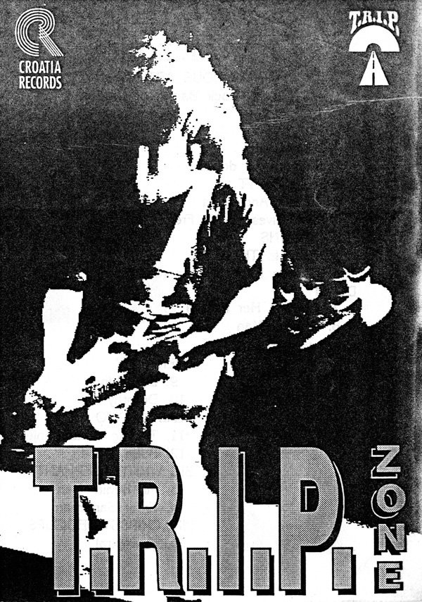 Various - T.R.I.P. Zone - Indie Rock Bands Of Croatia (LP, Comp, Promo)
