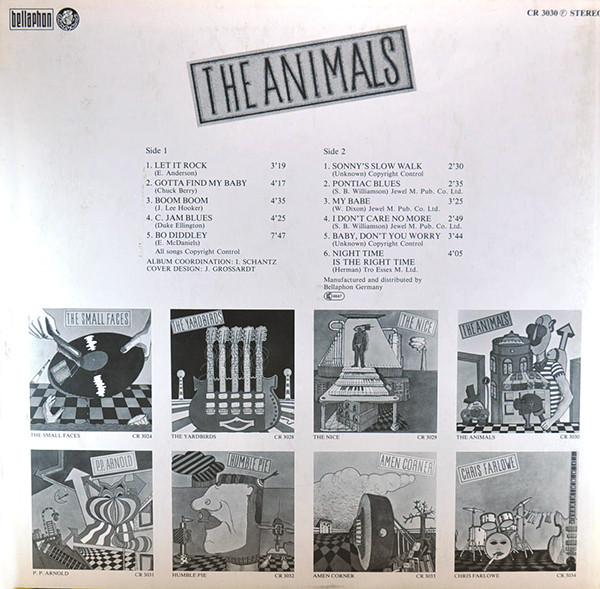 The Animals - Untitled (LP, Comp)