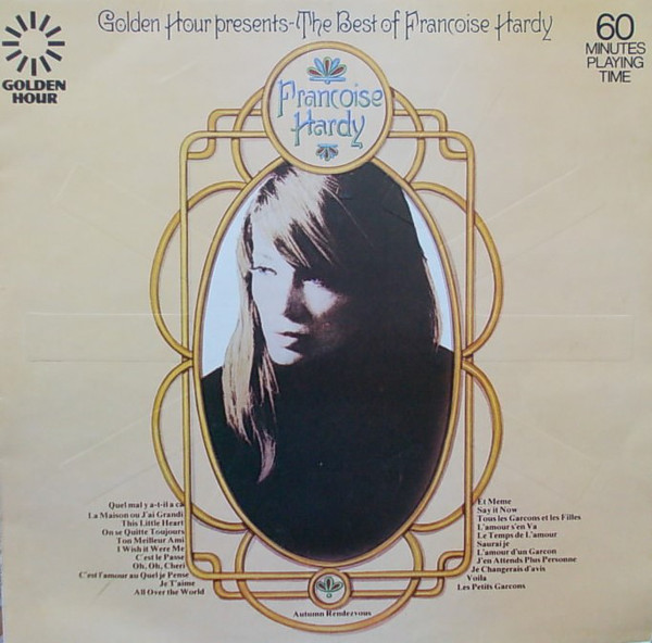 Françoise Hardy - The Best Of Françoise Hardy (LP, Comp)
