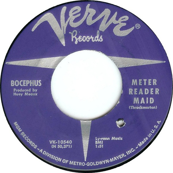 Bocephus - Meter Reader Maid / Just A Dream (7