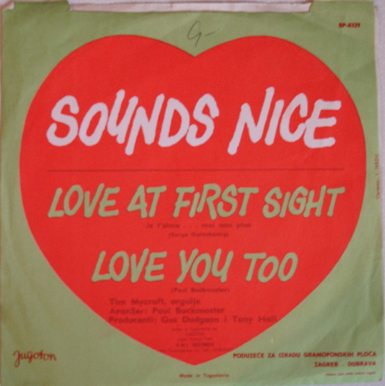 Sounds Nice - Love At First Sight / Love You Too (7