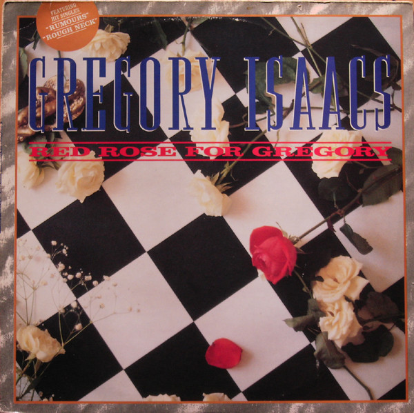Gregory Isaacs - Red Rose For Gregory (LP, Album)