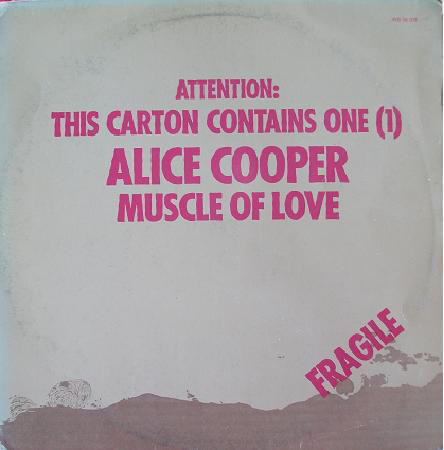 Alice Cooper - Muscle Of Love (LP, Album)