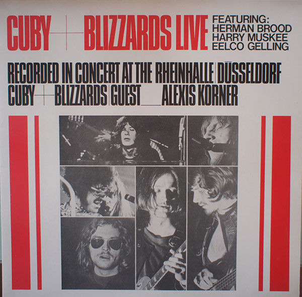 Cuby + Blizzards* - Cuby + Blizzards Live (Recorded In Concert At The Rheinhalle Dusseldorf) (LP, Ltd, RE)