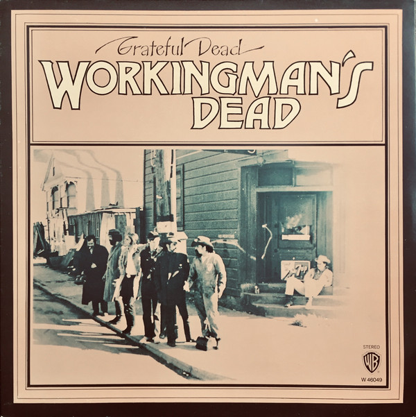 The Grateful Dead - Workingman's Dead (LP, Album)