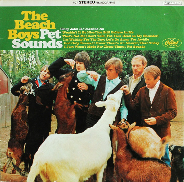 The Beach Boys - Pet Sounds / Smiley Smile (2xLP, Album, Comp)