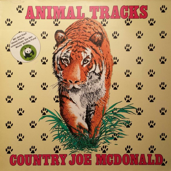 Country Joe McDonald - Animal Tracks (LP, Album)