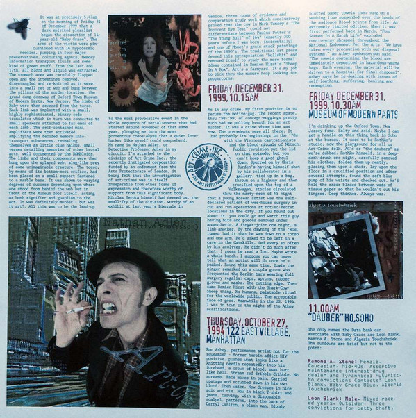 David Bowie - Excerpts From Outside  (LP, Album, RE, 180)