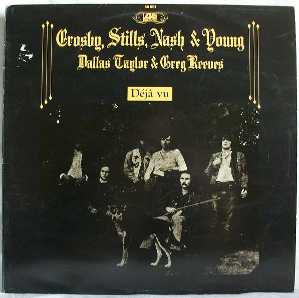 Crosby, Stills, Nash & Young - Déjà Vu (LP, Album, RE)