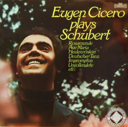 Eugen Cicero - Plays Schubert (LP, Album)