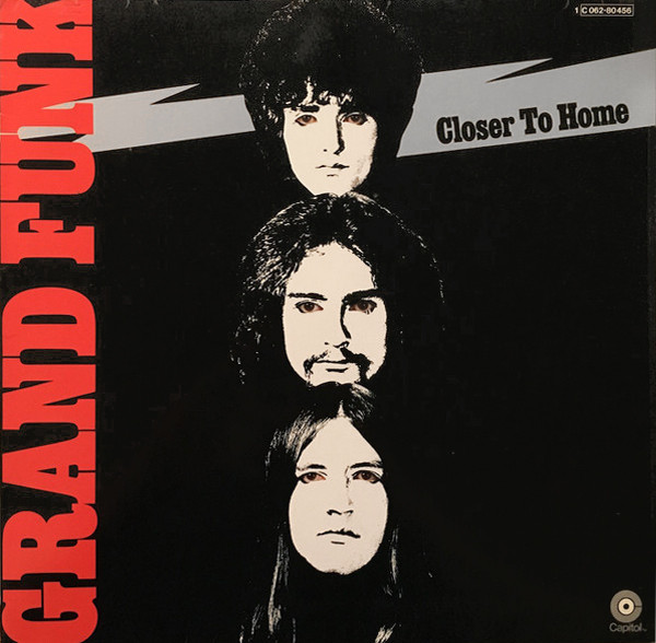 Grand Funk Railroad - Closer To Home (LP, Album, Gat)