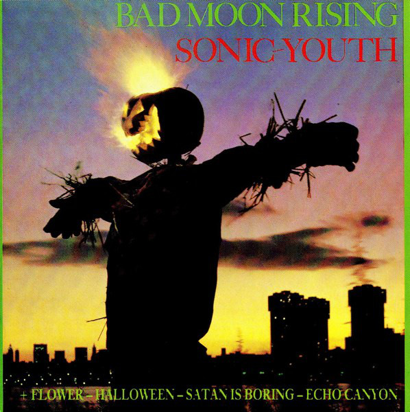 Sonic Youth - Bad Moon Rising (CD, Album, RE)