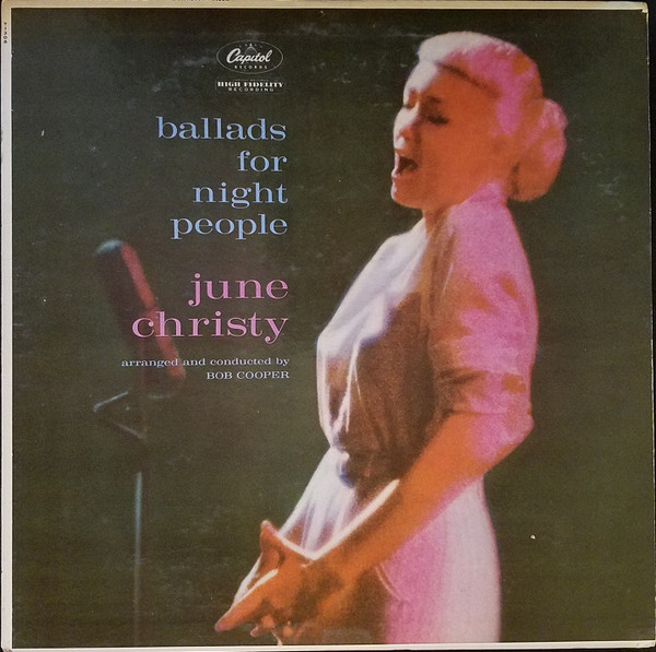 June Christy - Ballads For Night People (LP, Album, Mono)
