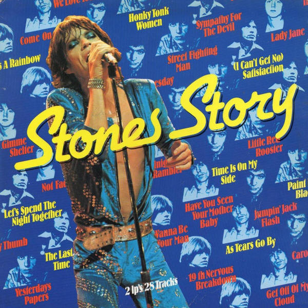 The Rolling Stones - Stones Story (2xLP, Comp)