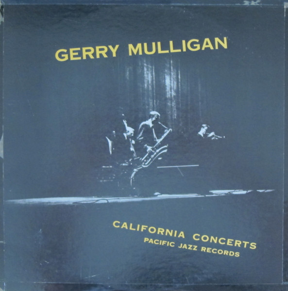 Gerry Mulligan - California Concerts (LP, Album, Mono, RE)