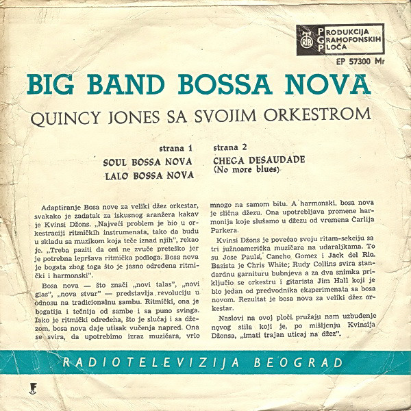 Quincy Jones And His Orchestra - Big Band Bossa Nova (7