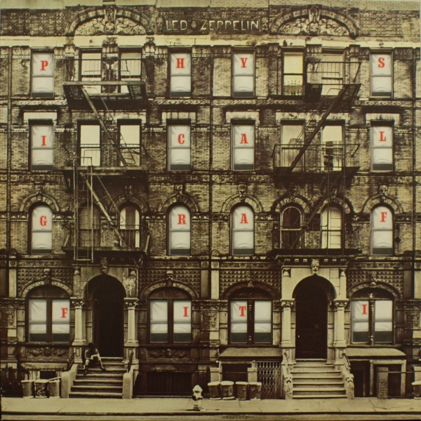 Led Zeppelin - Physical Graffiti (2xLP, Album, RE)