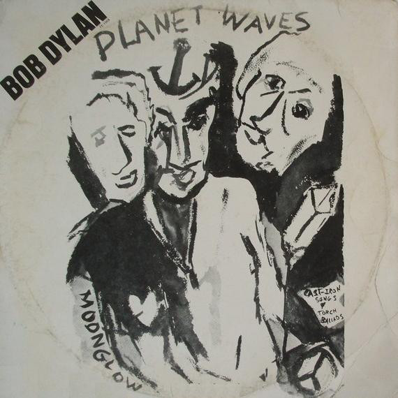Bob Dylan - Planet Waves (LP, Album)