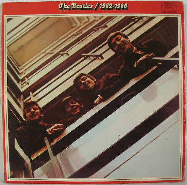 The Beatles - 1962-1966 (2xLP, Comp, RP)