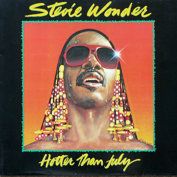Stevie Wonder - Hotter Than July (LP, Album)