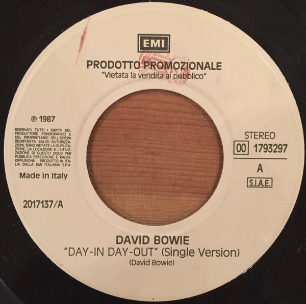 David Bowie / Mark Farina (2) - Day-In Day-Out / Take Your Time (7