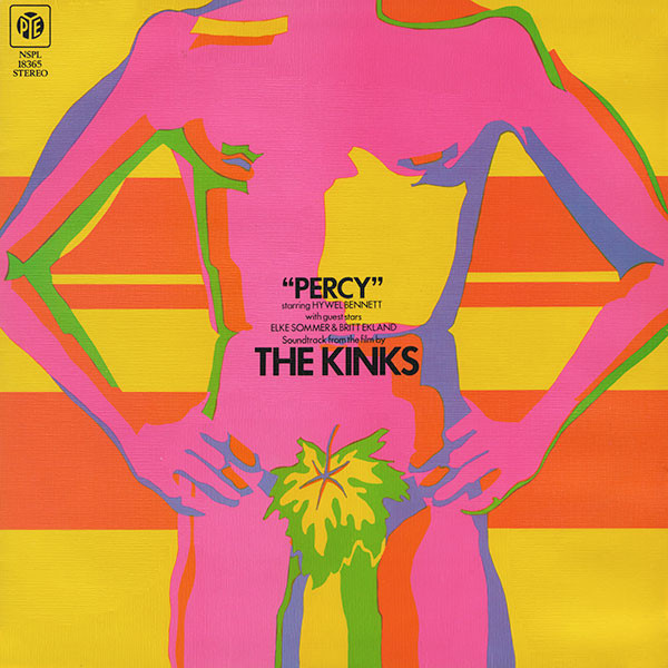 The Kinks - Percy (LP, Album, RE)
