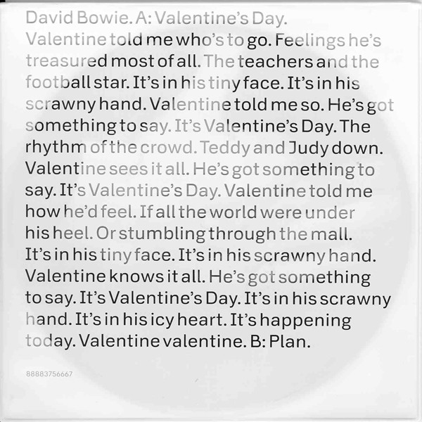 David Bowie - Valentine's Day (7