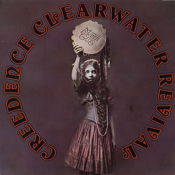 Creedence Clearwater Revival - Mardi Gras (LP, Album, RE)