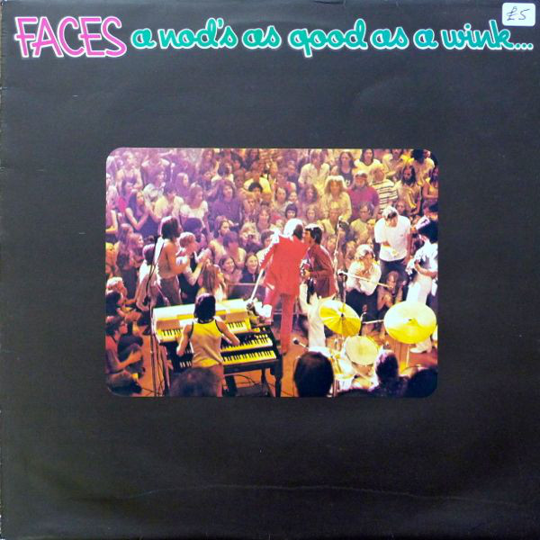 Faces (3) - A Nod's As Good As A Wink...To A Blind Horse (LP, Album)
