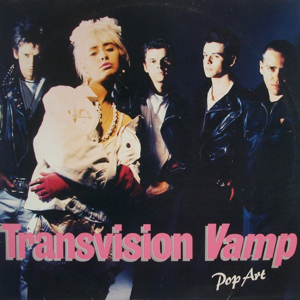 Transvision Vamp - Pop Art (LP, Album)