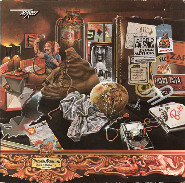 The Mothers Of Invention* - Over-Nite Sensation (LP, Album, RE, Gat)