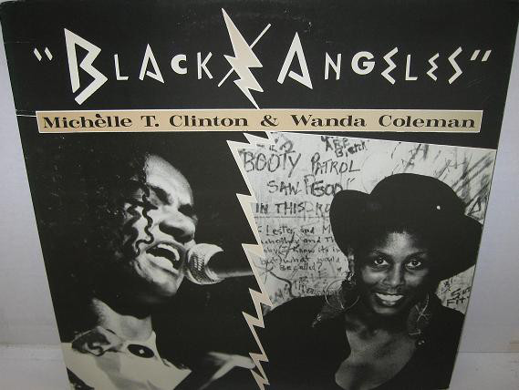 Michelle T. Clinton & Wanda Coleman - Black/Angeles (LP, Album)