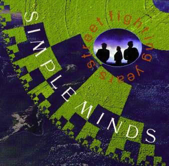 Simple Minds - Street Fighting Years (LP, Album)