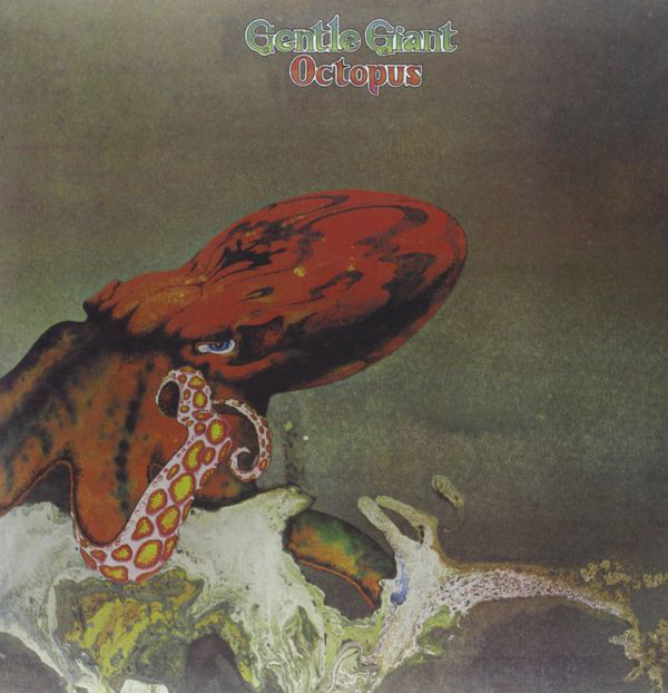 Gentle Giant - Octopus (LP, Album, Ltd, RE, 180)