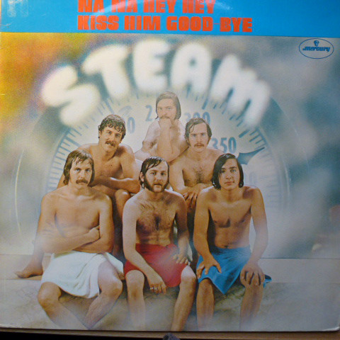 Steam - Steam (LP, Album)