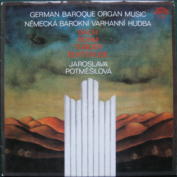 Jaroslava Potměšilová - German Baroque Organ Music (LP, Album)
