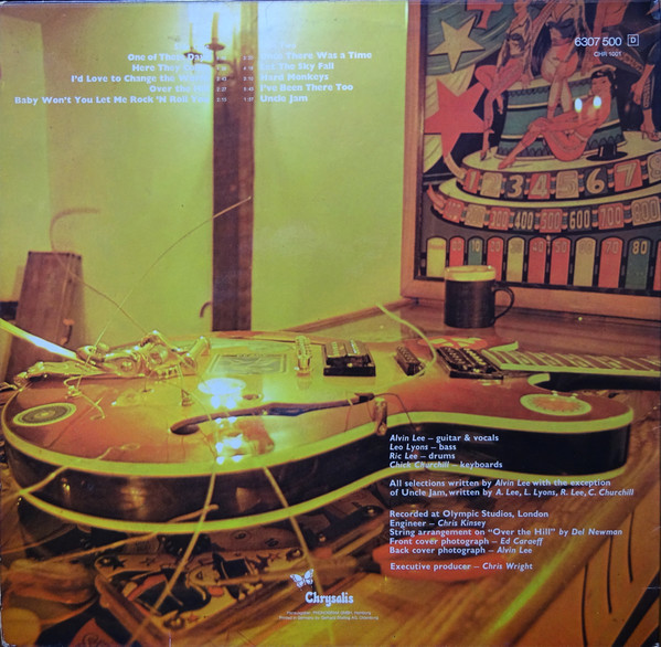Ten Years After - A Space In Time (LP, Album)
