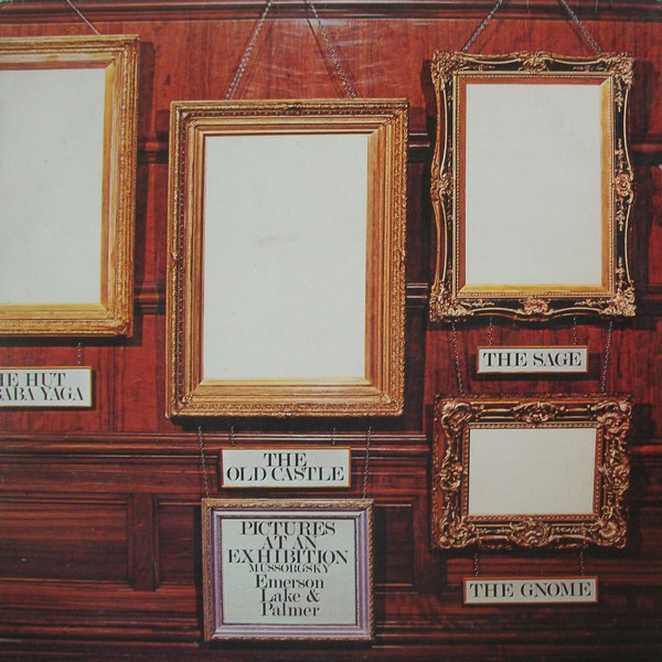 Emerson, Lake & Palmer - Pictures At An Exhibition (LP, Album, RE, Gat)