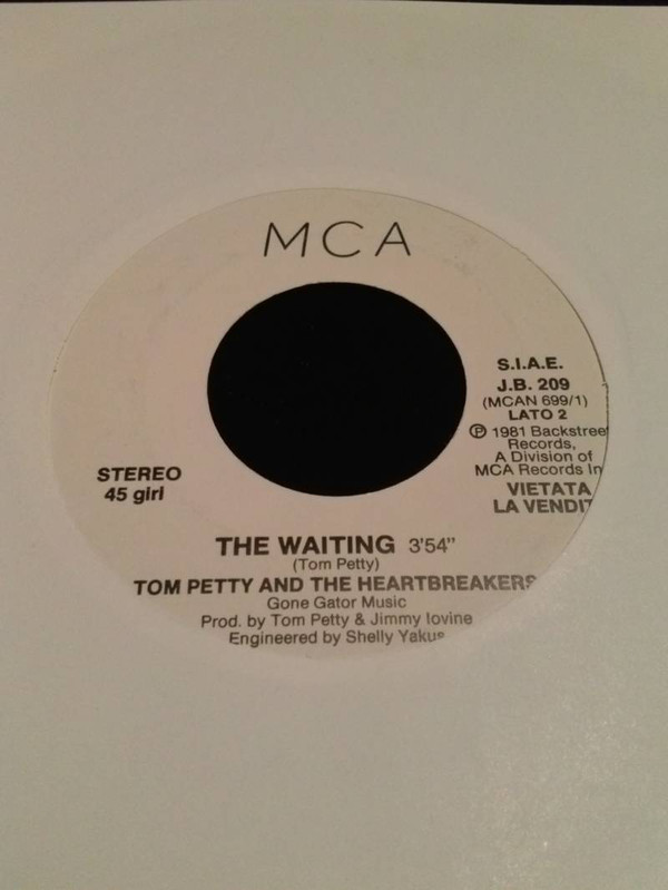 James Warren And The Korgis / Tom Petty And The Heartbreakers - That Was My Big Mistake / The Waiting (7
