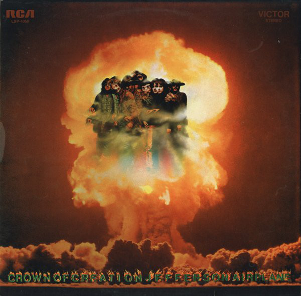 Jefferson Airplane - Crown Of Creation (LP, Album, RP)