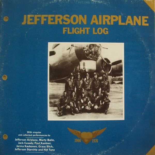 Jefferson Airplane - Flight Log (2xLP, Comp, Gat)