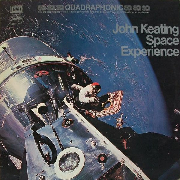 John Keating - Space Experience (LP, Album, Quad)