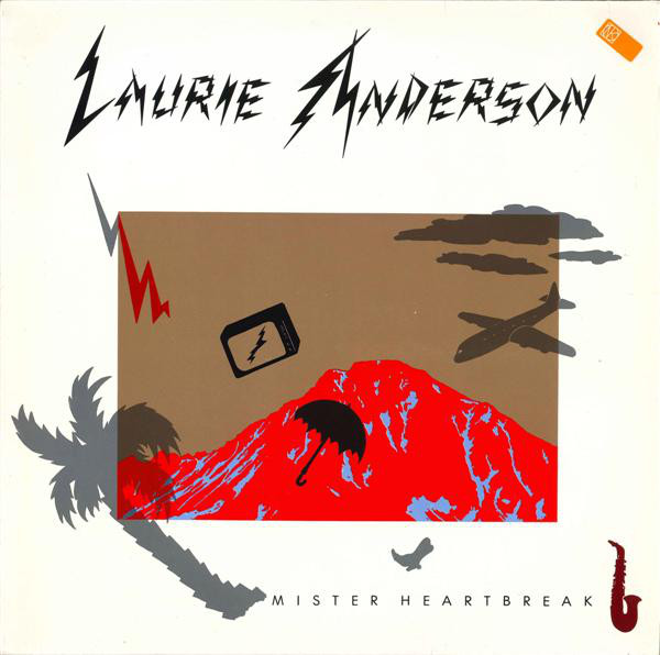 Laurie Anderson - Mister Heartbreak (LP, Album)